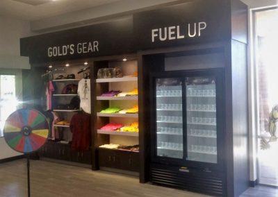 custom gym cabinetry