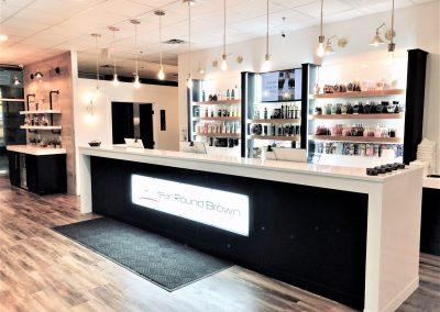 tanning salon cabinets