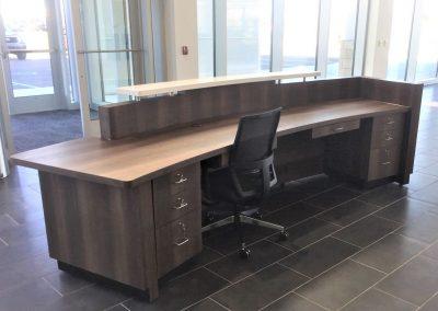 auto dealer custom cabinets