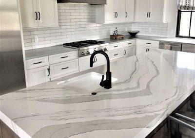 cambria brittanicca kitchen island
