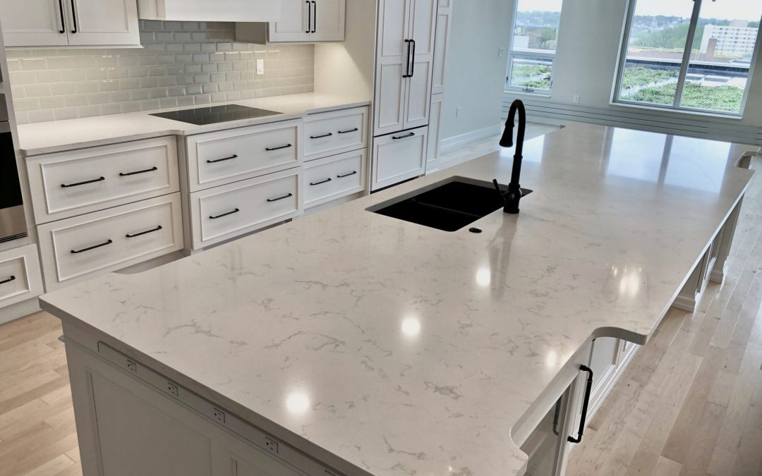 Just Loving These New Countertops…