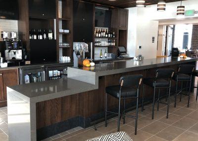 hotel custom cabinetry