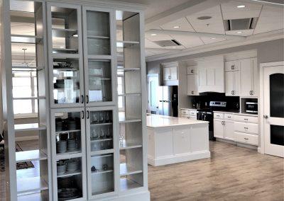 custom home living cabinetry