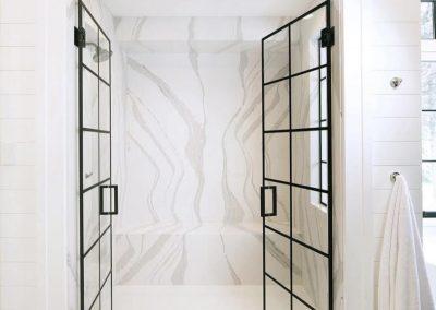 cambria quartz shower walls