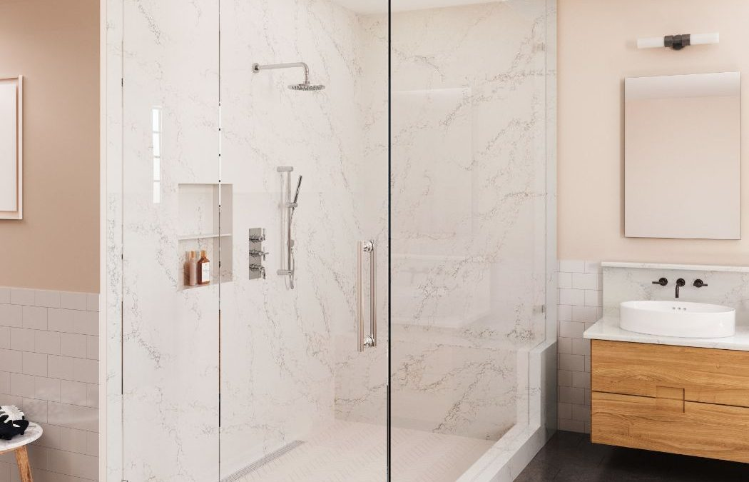Quartz Wall Cladding for the Shower? Absolutely!