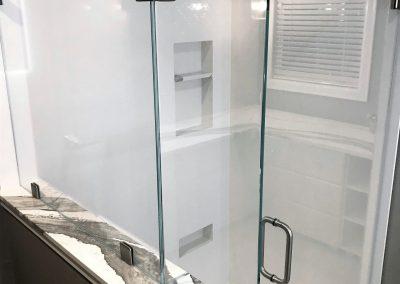 cambria quartz shower