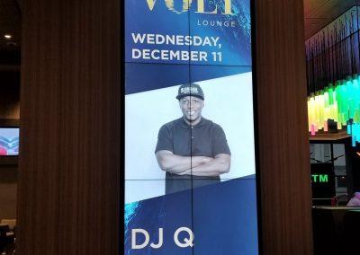 casino marketing sign