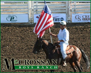 McCrossan Rodeo – Charity Sponsorship Sign Design